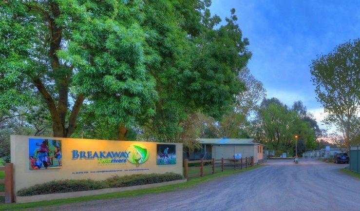 Goulburn River Family Caravan Park, Powered Caravan Site
